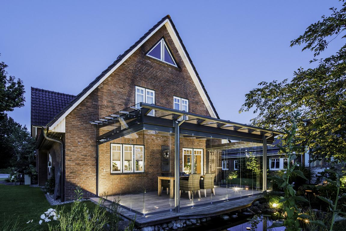 Read more about the article Die Ruhe im Wind | Glashaus in Nordfriesland